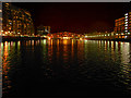 SJ8097 : Salford Quays, Huron Basin and Detroit Bridge by David Dixon
