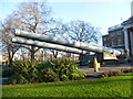 TQ3179 : Guns in front of the Imperial War Museum by Ian Yarham
