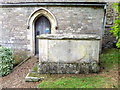 SK9508 : Tomb, St Peter's Church by Miss Steel