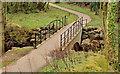 J3583 : Footbridge, Whiteabbey (1) by Albert Bridge
