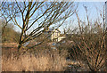 SK8803 : A view from the footpath old station Manton by roger geach