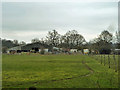 TQ4367 : Southborough Lane stables by Robin Webster