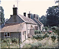 ST9383 : Church Lane Cottages, Rodbourne in 1974 by Colin Busby Forward
