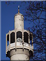 TQ2782 : Minaret, Regent's Park Mosque by Colin Smith
