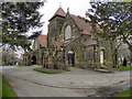 SJ7693 : Urmston Cemetery Chapel by David Dixon