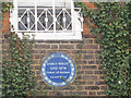 TQ3877 : General Wolfe plaque on Macartney House by Stephen Craven