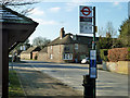 TQ4861 : At the bus stop, Halstead by Robin Webster