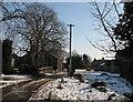 TL4751 : Slow thaw at Bury Farm by John Sutton