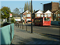 TQ3072 : Streatham Hill Station, bus stop Q by Robin Webster