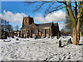 SD7907 : The Parish Church of St Mary, Radcliffe by David Dixon
