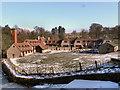 SJ9682 : The Timber Yard, Lyme Park by David Dixon