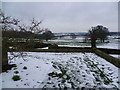 TQ3563 : Snowy view from Heathfield towards New Addington by Ian Yarham