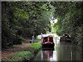 SJ8219 : Shropshire Union Canal at Gnosall Heath, Staffordshire by Roger  Kidd