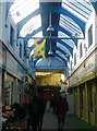 TQ3175 : Jamaican flag, Brixton Village Market, Atlantic Road SW9 by R Sones
