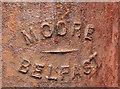 J3374 : Corner protection, Belfast (9) by Albert Bridge
