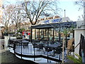 TQ2682 : Cafe Laville, Regent's Canal by Ruth Sharville