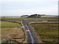 NY8791 : Crossroads on the A68/B6320 by Oliver Dixon