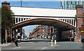 SJ8397 : Bridge, Deansgate, Manchester (1) by Stephen Richards