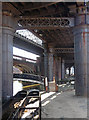 SJ8397 : Viaducts, Castle Street, Manchester (1) by Stephen Richards