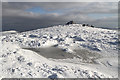NT1421 : Winter conditions on Cairn Law by Walter Baxter