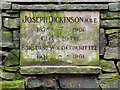 SD6206 : Joseph Dickinson Memorial by David Dixon