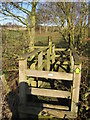 SP1698 : Footpath to Wood Farm by Michael Westley