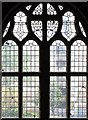 TQ2671 : St Mary, Keble Street, Summerstown - Window by John Salmon