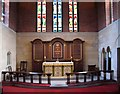 TQ2671 : St Mary, Keble Street, Summerstown - Sanctuary by John Salmon