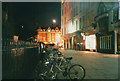 TL4458 : Cambridge bikes at night by Stephen Craven