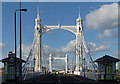 TQ2777 : Albert Bridge (2) by Stephen Richards