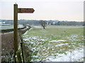 SP0071 : Footpath Near Wheeley Farm by Nigel Mykura