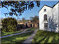 SJ8383 : Quarry Bank Mill, Apprentice House Yard by David Dixon