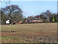 SJ8383 : Cottages on Holt's Lane, Styal Village by David Dixon