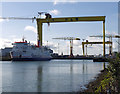 J3675 : The 'Stena Caledonia' at Belfast by Rossographer