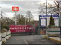 SJ8583 : Handforth Station by David Dixon