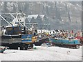 TQ8209 : Boats at fishermen's stade by Oast House Archive