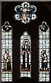 TQ2382 : St Martin, Mortimer Road, Kensal Rise - Stained glass window by John Salmon