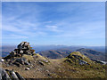NM8477 : Summit cairn and knolls of Beinn Odhar Bheag by Trevor Littlewood