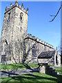 SK3499 : St Peters church Tankersley. by steven ruffles