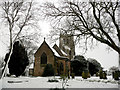 SK4847 : St Marys Church, Greasley by Patrick Baldwin