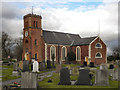 SJ6197 : St Luke's Parish Church, Lowton by David Dixon