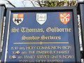 SJ6098 : St Thomas, Golborne by David Dixon