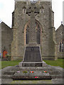 SJ6098 : War Memorial, St Thomas, Golborne by David Dixon