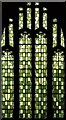 TQ2573 : St Barnabas, Merton Road, Southfields - Stained glass window by John Salmon