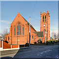 SD6003 : St Nathaniel's Parish Church, Platt Bridge by David Dixon
