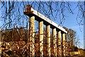 NS7672 : Bridge Under Construction by Robert Struthers
