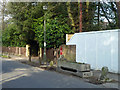 TQ4470 : Post box and horse trough, Kemnal Road by Robin Webster