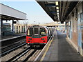 TQ2185 : Neasden tube station - platforms by Mike Quinn