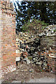 TL3500 : Remains of old Summerhouse, Cedars Park, Cheshunt, Hertfordshire by Christine Matthews