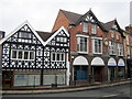 SO9570 : Bromsgrove High Street  MFG Solicitors & The Bromsgrove Advertiser by Roy Hughes